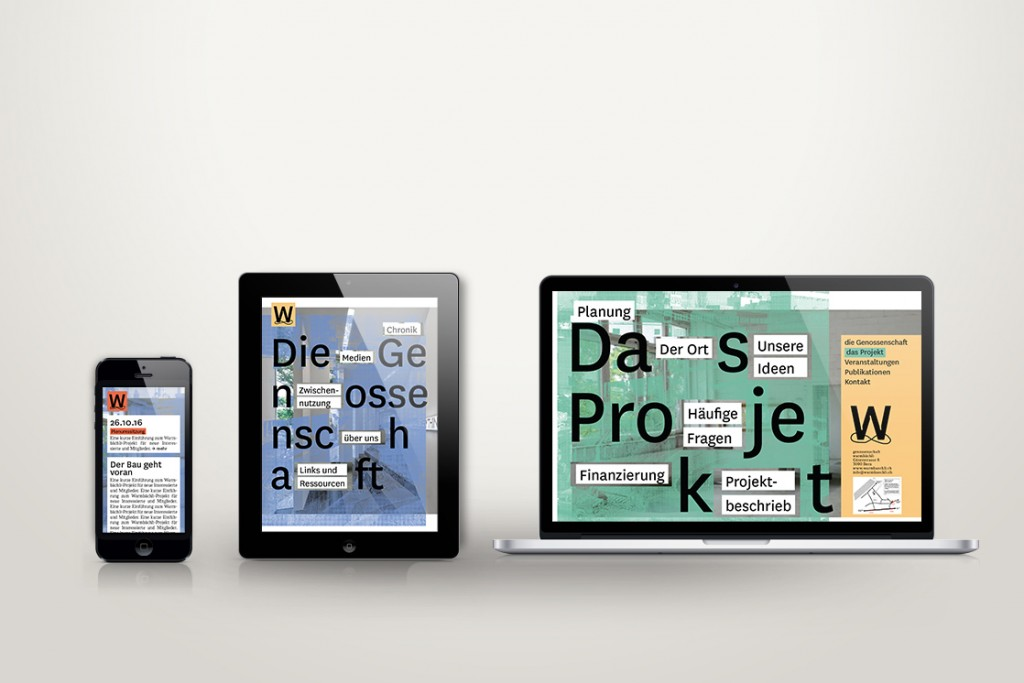 Malaïka Schürch Warmbächli — corporate design