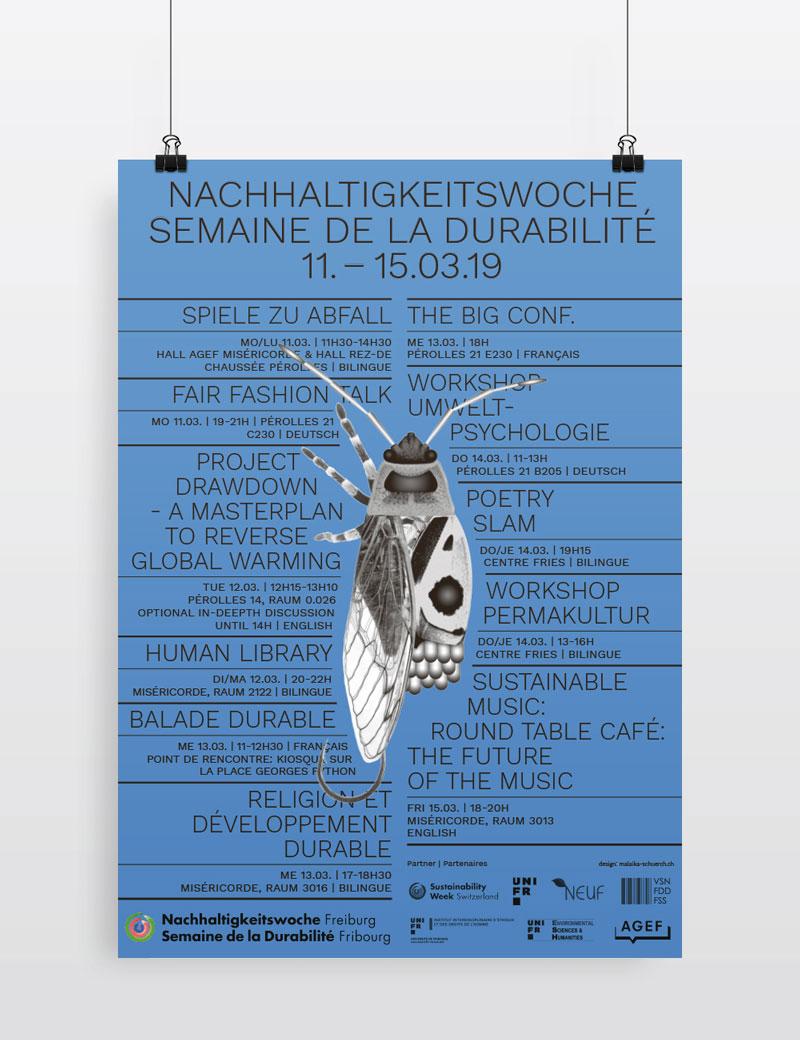 Malaïka Schürch Sustainability Week Fribourg 2019